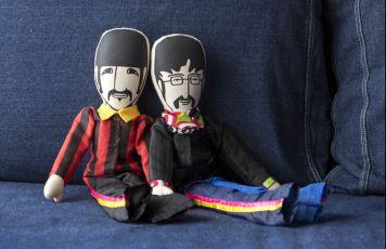 Beatles e <br>Rolling Stones