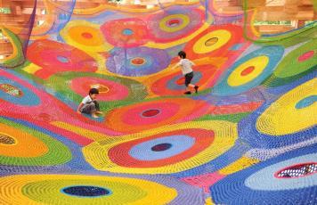 Na Estrada: <br>parque de crochê