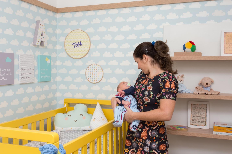 Quarto De Beb Listrado ~ Rodameio Para Quarto De Bebe E Foto De Quarto Infantil