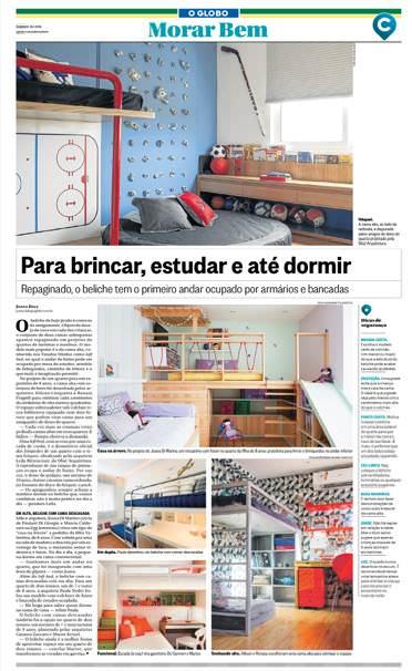 Jornal O Globo, Caderno Morar Bem