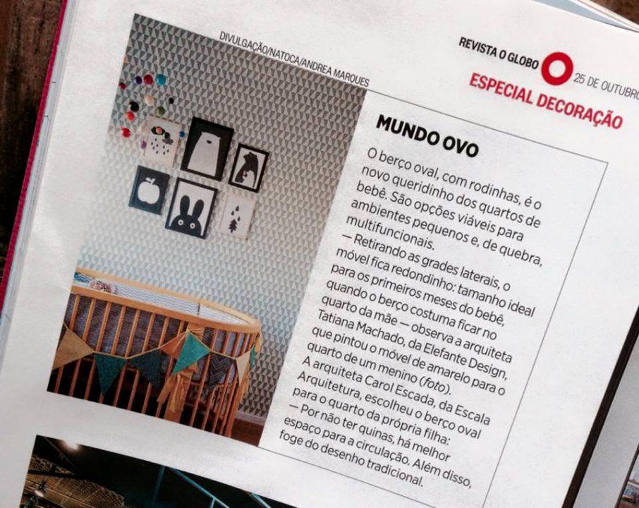 Revista O Globo, outubro de 2015