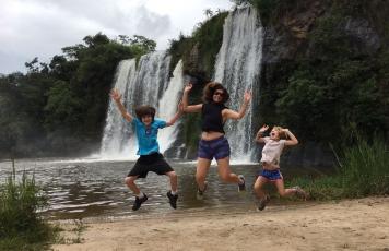 Na Estrada: cachoeiras em Carrancas