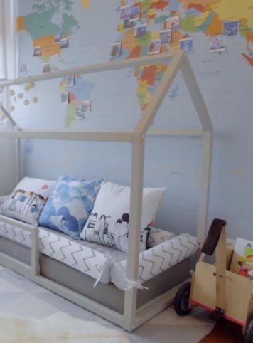 Mapateca (ambientado com cama casinha)
