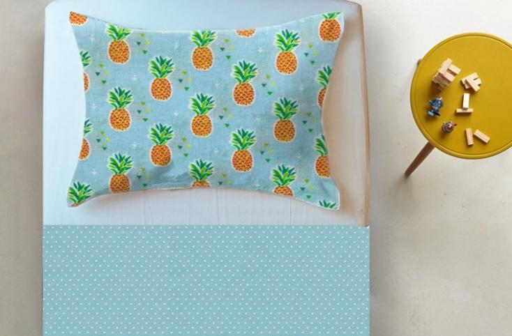 Maria Algodão – roupa de cama abacaxi