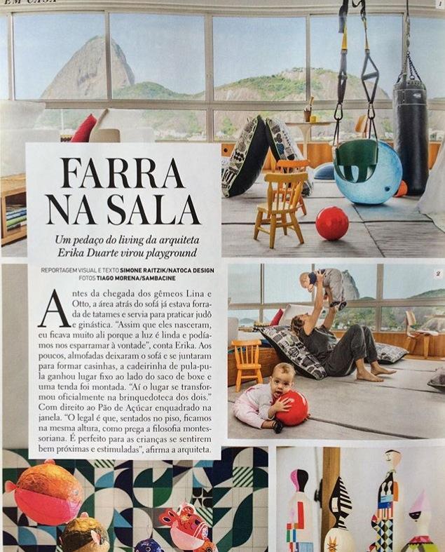 Revista Casa Claudia, outubro de 2016