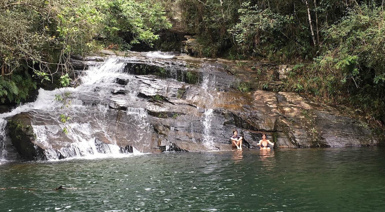 Cachoeiras em Carrancas