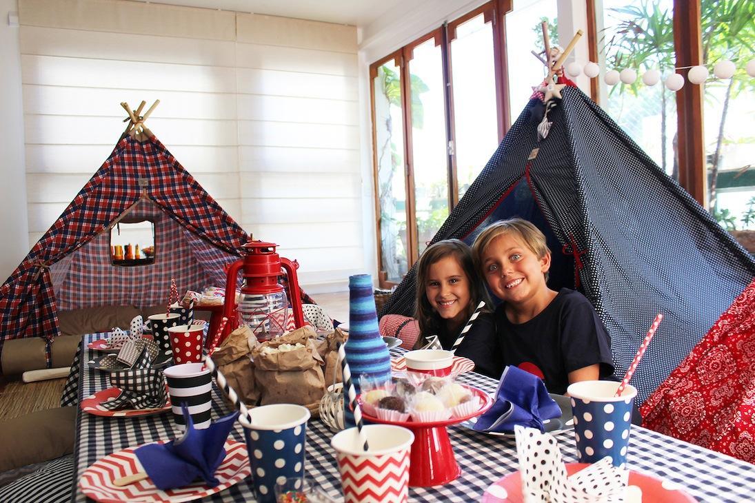 Pijama e cabana