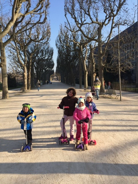 Paris de patinete