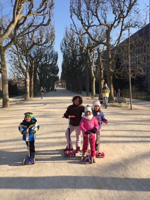 Paris de patinete